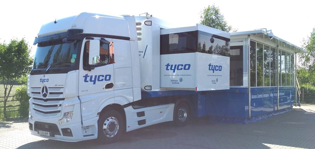 Tyco Security Truck Roadshow Poland 2019 - 21 marca