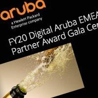 Otrzymaliśmy unikalny tytuł: Aruba Reseller of the Year - FY20 CERTA